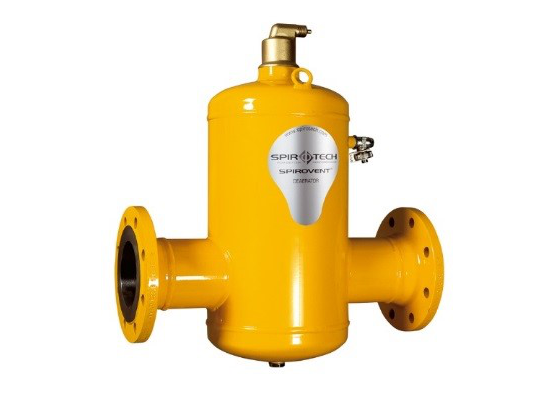 Spirovent Deaerators for Heating, Cooling & Process Systems from Ireland's leading HVAC specialists, Euro Gas