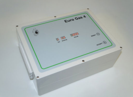 Single 3 Channel Unit Fantini Cosmi Gas Detection from leading HVAC supplier, Euro Gas