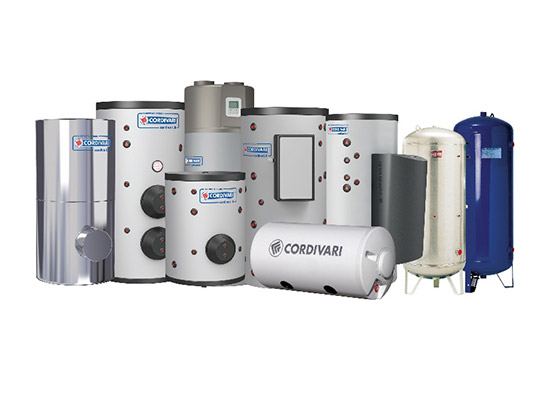Cordivari Calorifiers & Buffer Tanks from Ireland's leading HVAC supplier, Euro Gas