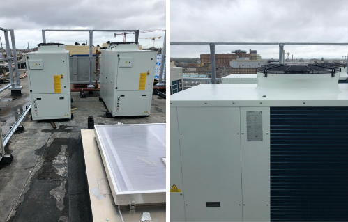 HIdROS range of Commercial Heat Pumps Installed in Student Accommodation in Dublin