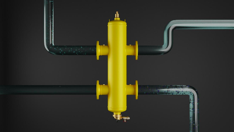 SpiroCross XC-M solution for hydraulic balancing, magnetic dirt separation and automatic deaeration