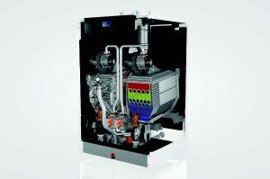 Rendamax Elco r1000 Series of Floor-Standing, Commercial Condensing Gas Boiler