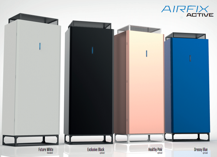 The Airfix air filtration, purification & sanitisation system